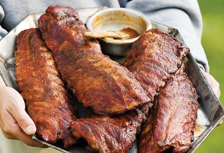 Classic Baby Back Ribs by Michael P. Clive, Weber