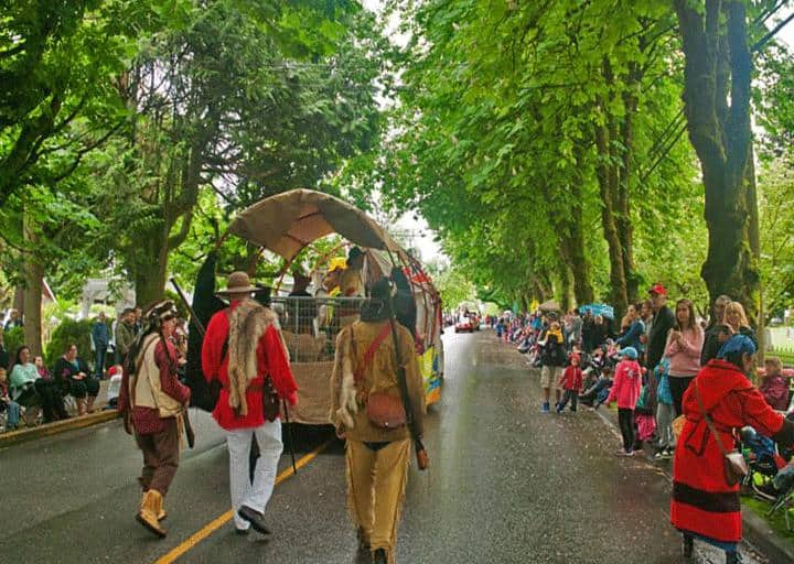 93rd Annual May Day Parade and Celebrations at Fort Langley, May 18