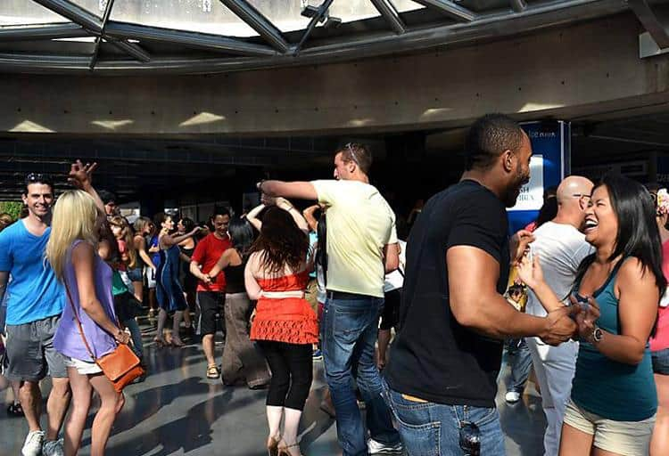 Sunday Afternoon Salsa at Robson Square, July 5 to August 30