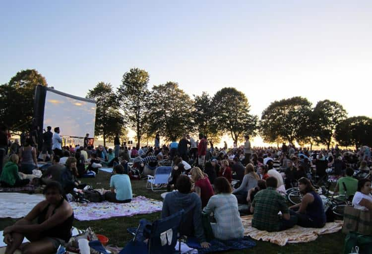 Outdoor Movies, Various Dates