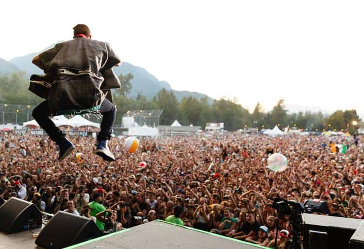 Squamish Valley Music Festival, August 7 to 9