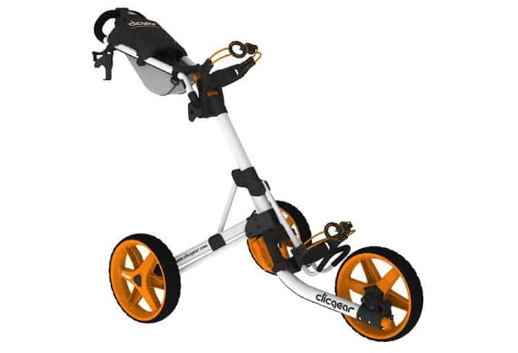 Clicgear 3.5 + 3 Wheel Push Cart