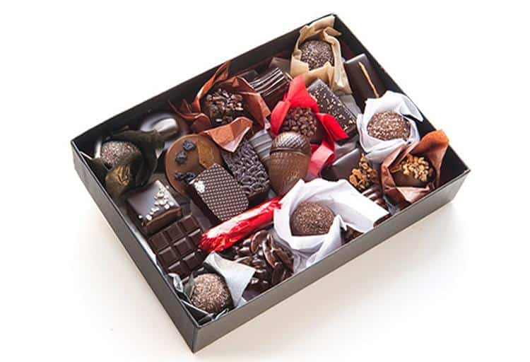 Signature Chocolate box from Chocolate Arts