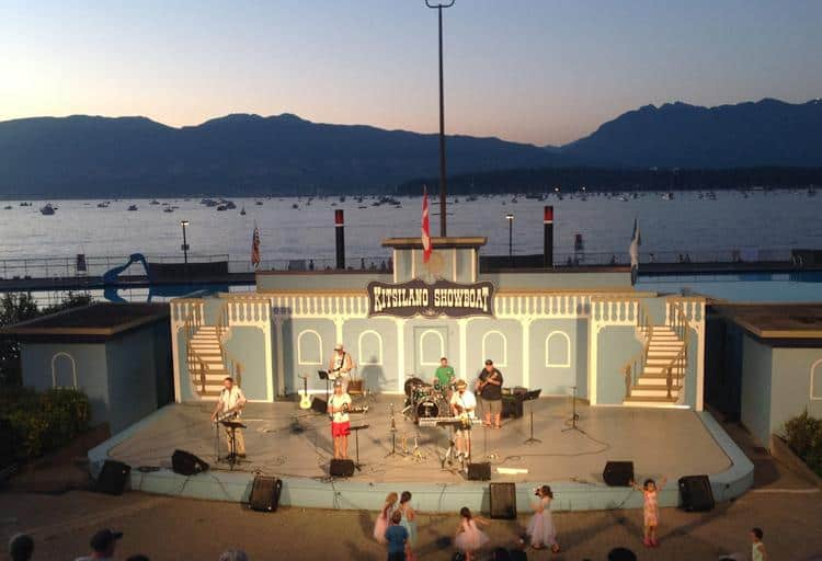 Canada Day at Kitsilano Showboat