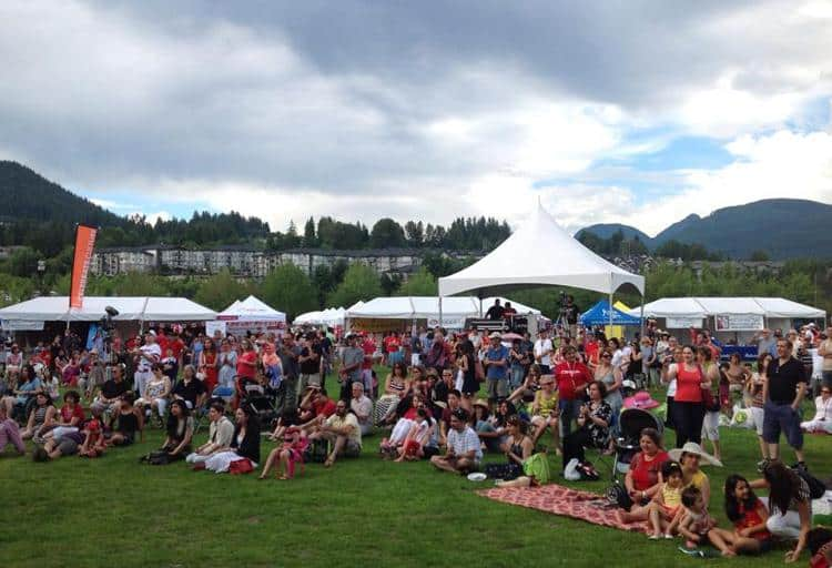 Canada Day in Coquitlam