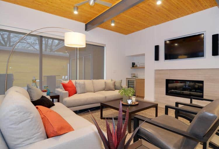 Tips and tricks to cozy up a modern space from this year's PNE Prize Home