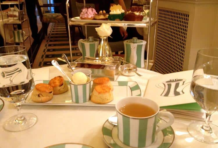 Claridge's Afternoon Tea, Brook Street