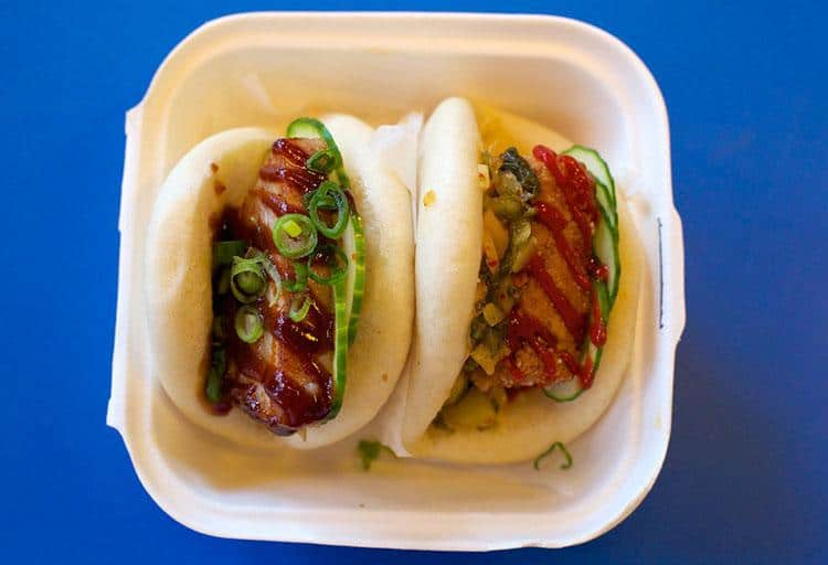 Yum Bun Food Cart, Various Locations