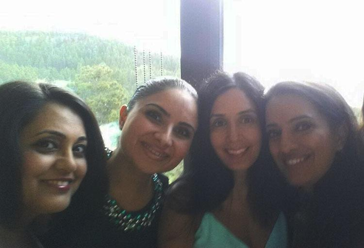 Nira Arora (second from left), Morning Show Host, 94.5 Virgin Radio