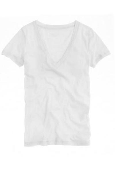 J. Crew Vintage Cotton V-neck tee, $43.50