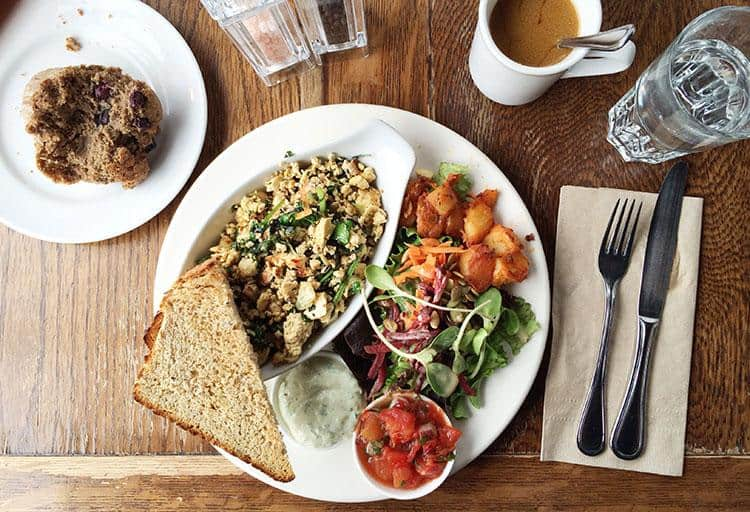 Healthy and Heavenly: Roasted Fennel Tofu Scramble at Aphrodite's Café & Pie Shop, 3598 West 4th Avenue