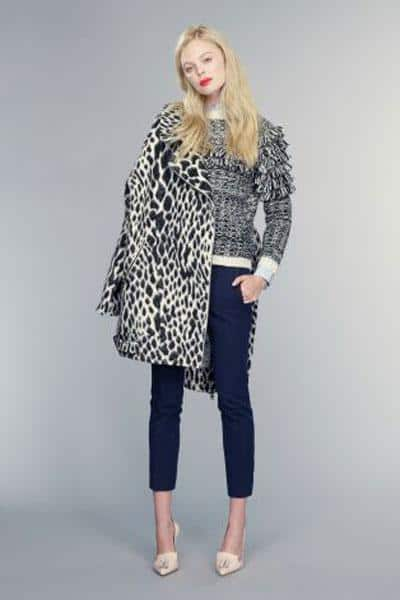 Banana Republic, Spotted Cocoon Coat, $246