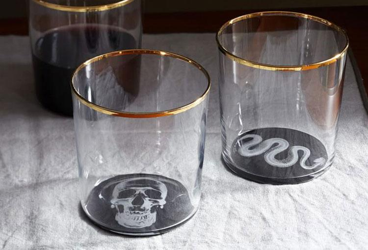 X-Ray Glassware, $60 for Set of Four