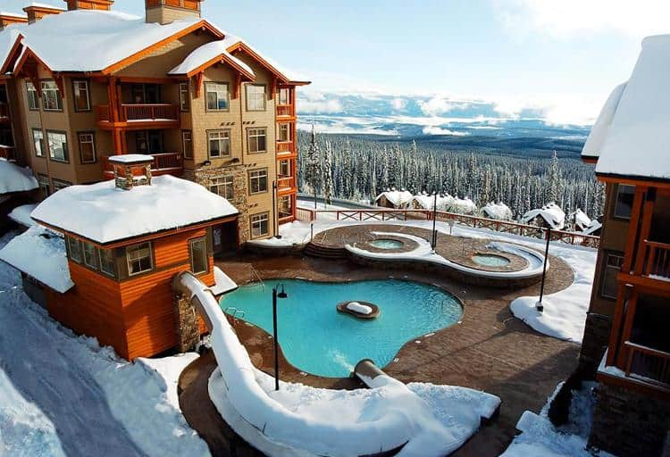 For those who would rather après ski than ski all day, Big White has plenty of options