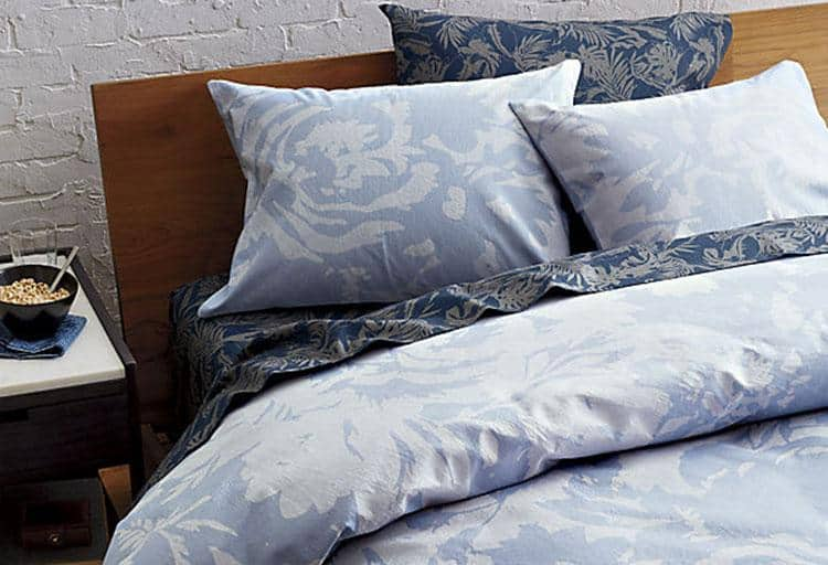 The Hill-Side giant floral print bed linens, from $80