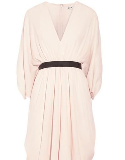 Issa Ness Belted Silk-georgette Dress, US$580