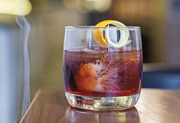 Nelson Navasero recommends the Smoked Boulevardier at Pidgin, 350 Carrall Street