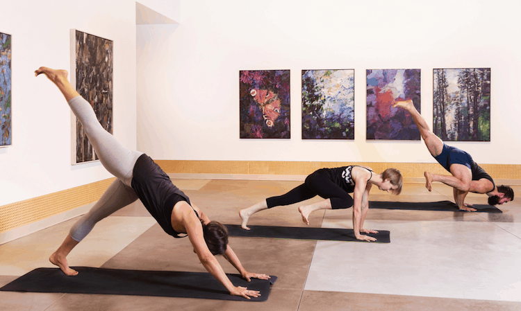 Yoga in the Gallery – March 22
