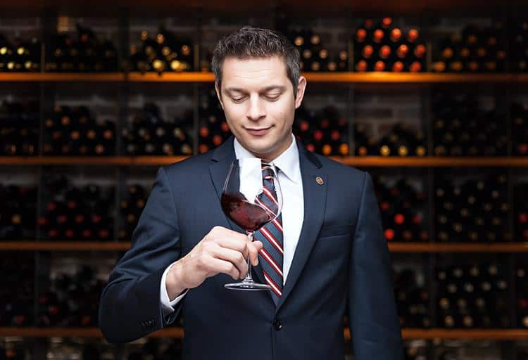 William Mulholland, Wine Director, Blue Water Cafe