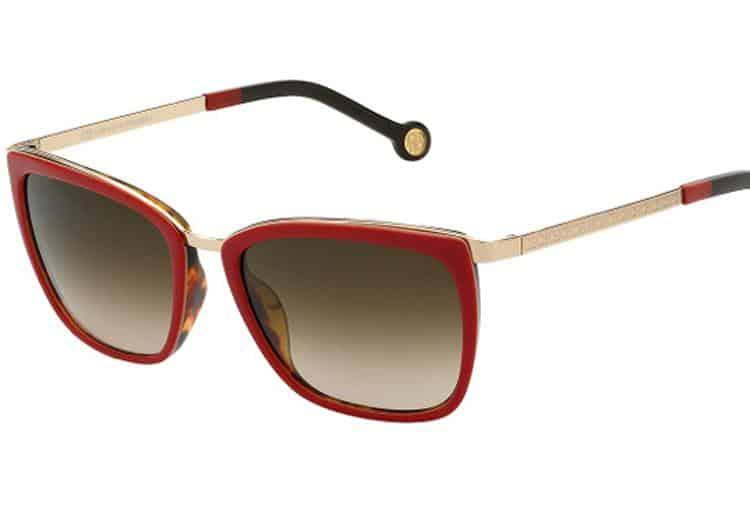 69e4e9d2ae2 Shade the sun with these trendy sunglasses. Credit  Carolina Herrera