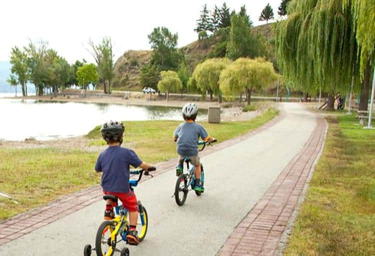Cycle the seawall