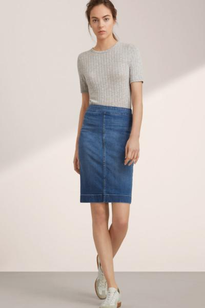 Trend Alert: This Summer's Most Stylish Denim Skirts - BCLiving