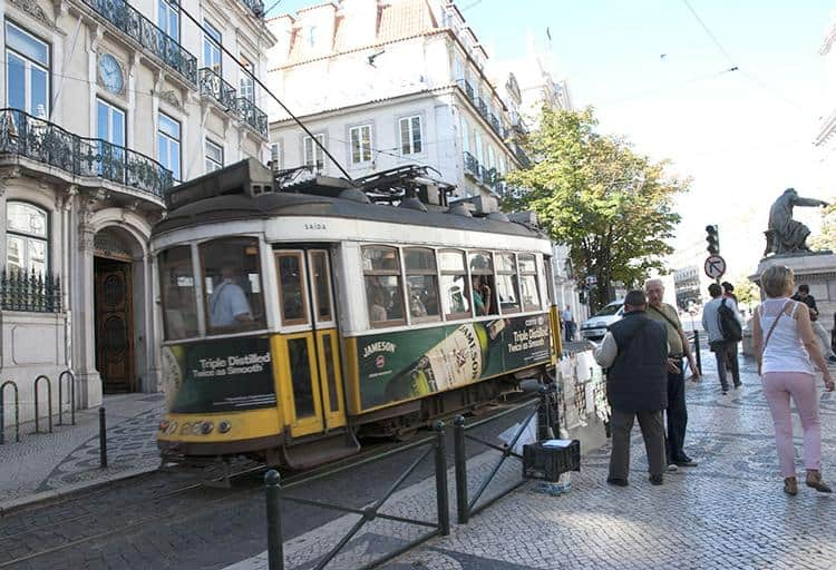 Trams: Old-fashioned electric transit