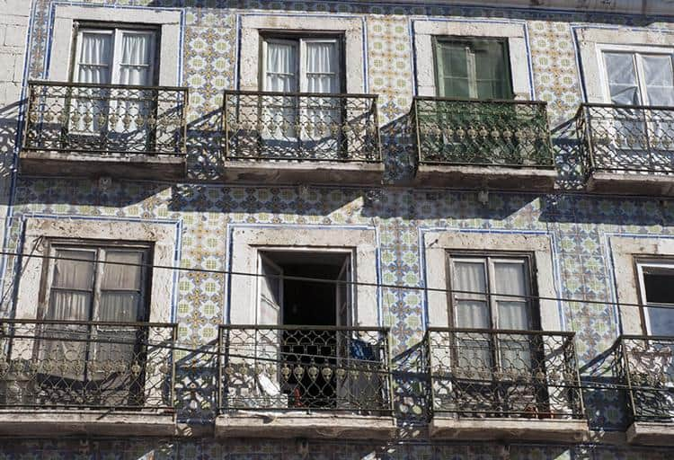 Azulejos: Tiles are elemental in architecture