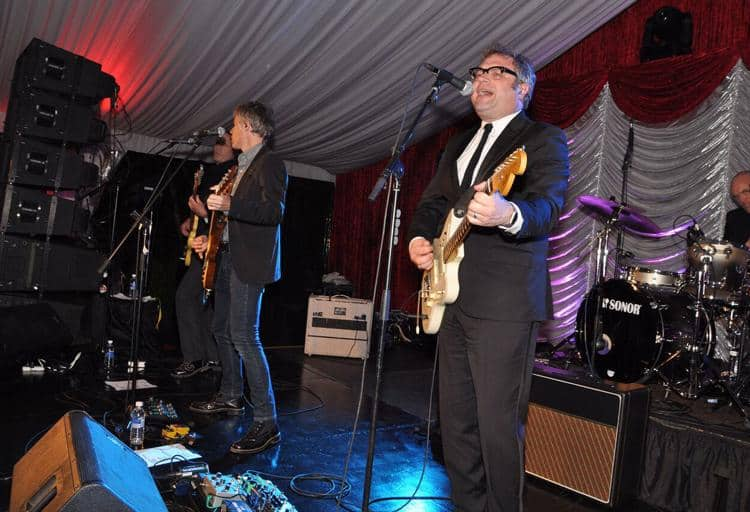 Steven Page performs with Odds