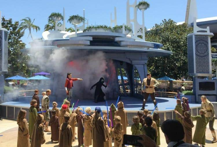 Take Star Wars fandom to the next level with an interactive, on-stage training adventure fit for junior Jedis