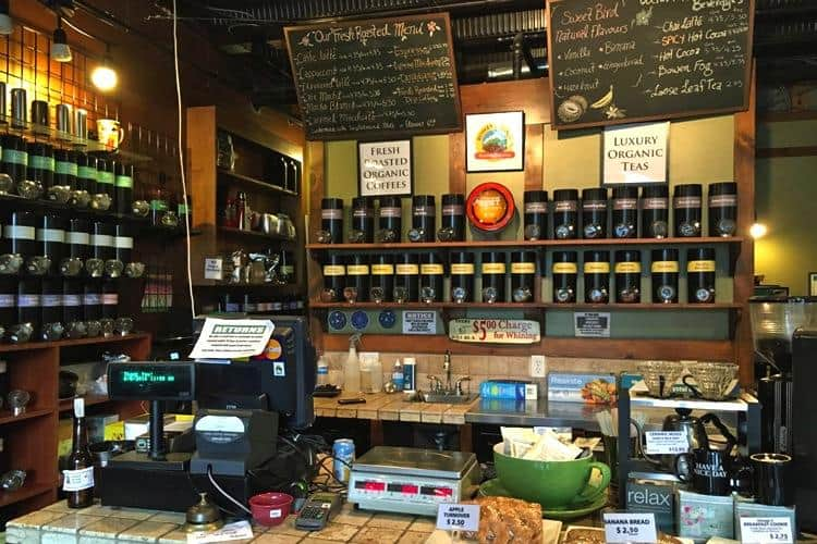 Try award-winning espresso at the Bowen Coffee Shop