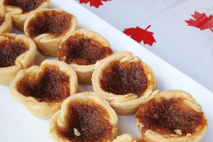 Butter Tarts at Tartine, 770 Beach Avenue