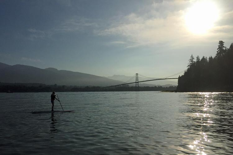 Kristy Wright Schell, President, Just Add Water Yoga & Stand Up Paddle Vancouver