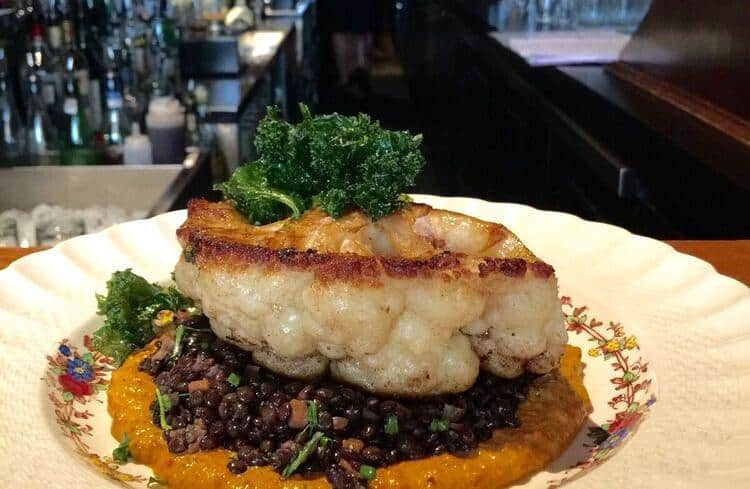 Cauliflower Steak from Pourhouse, 162 Water Street, $22