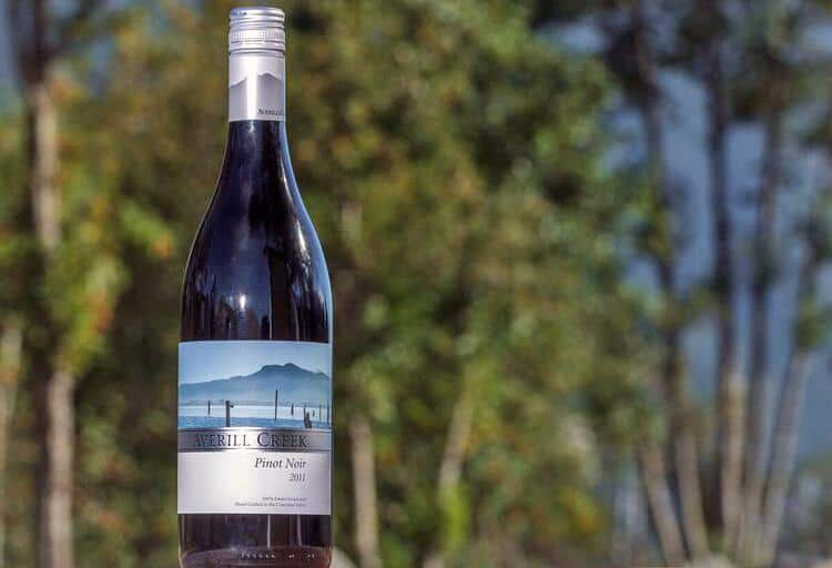 Averill Creek Pinot Noir 2011, approximately $25