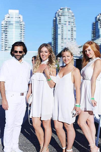 Roberto Sousa, Sparkle Media; Christie Lohr, Style Nine to Five; Michelle Morton, CKNW + Novus and Cyndi Hunter