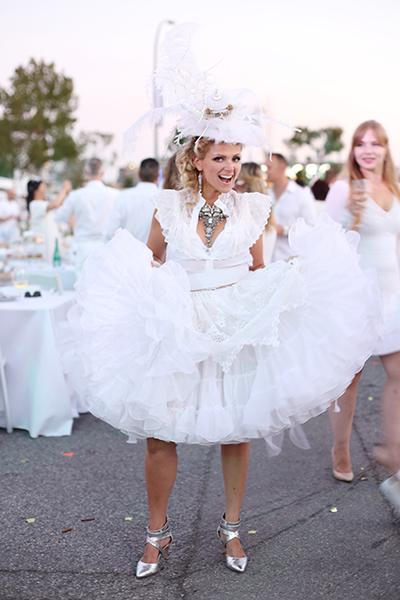Crystal Carson, Style Director, Diner en Blanc