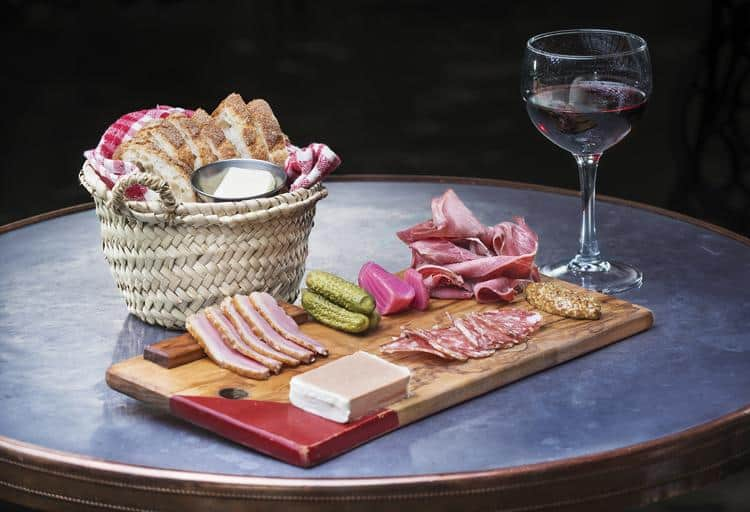 Assiette de Charcuterie, Au Comptoir, 2278 West 4th Avenue