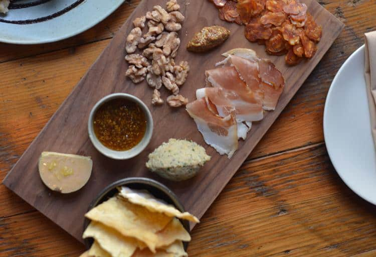 Wildebeest Charcuterie Board from Wildebeest, 120 West Hastings Street
