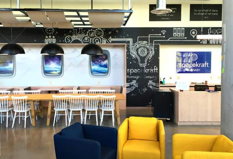 Spacekraft Coworking, #201 – 4501 Kingsway, Burnaby, B.C. (near Metrotown)