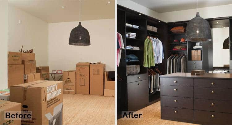 Before And After: How To Execute The Perfect Storage