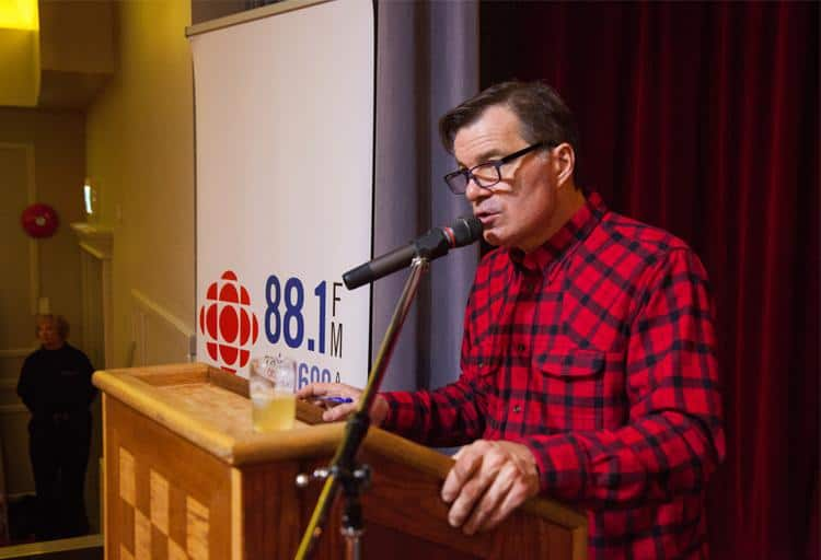 CBC's Stephen Quinn hosted the show