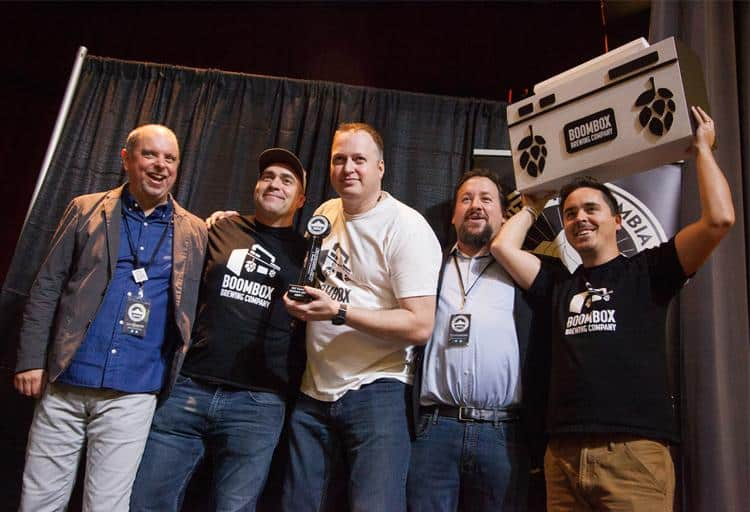 Boombox Brewing won the People's Choice Award for their Pablo Esco Gnar IPA and third place for their beer The Ultra Deluxe