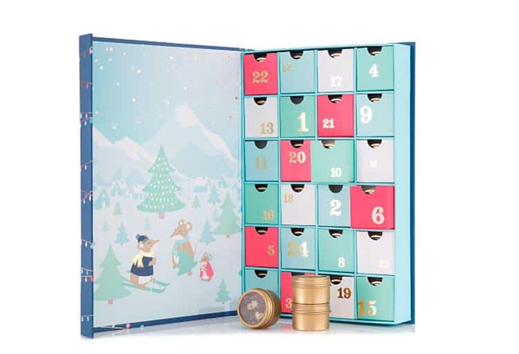 From beauty products to sweet treats, count down to Christmas with these Advent calendars filled with cheerful surprises