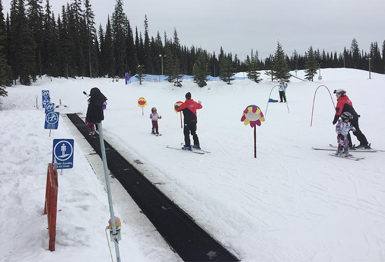 Ski school for the kids