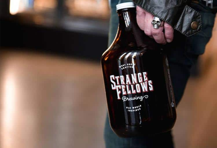 Aaron Jonckheere, co-owner of Strange Fellows Brewing recommends...