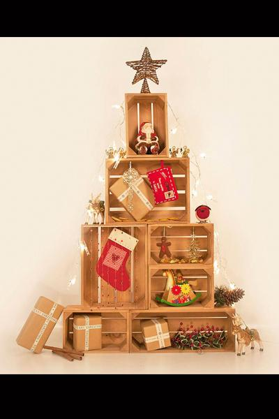 Crate Christmas Tree