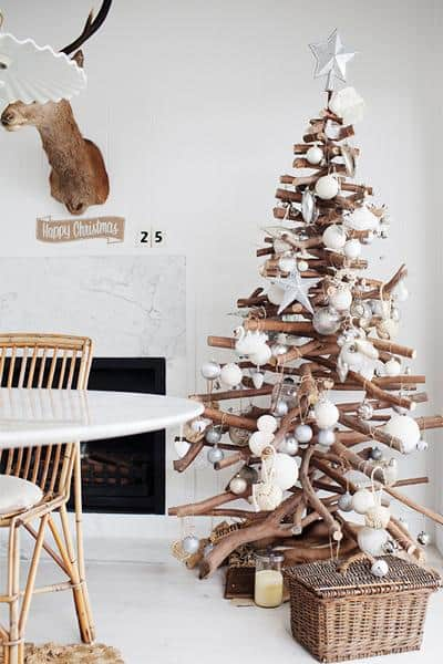 These eight unconventional Christmas trees will be sure to add fun and flair to your holidays