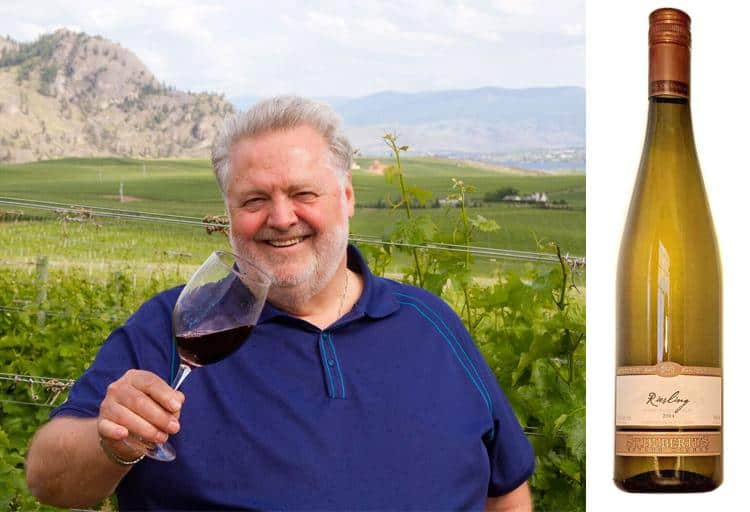 Harry McWatters, president & CEO of TIME Winery (Penticton) recommends...