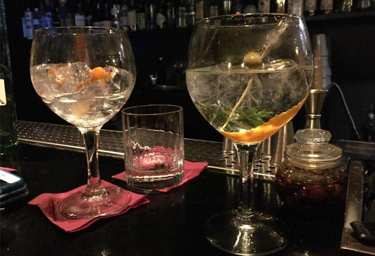 Dive into gin-tonics